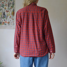 Load image into Gallery viewer, Tom & Jerry plaid shirt