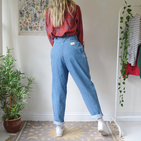 Pleated jeans 29W