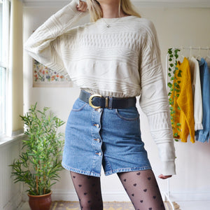 Nana Jumper in Cream