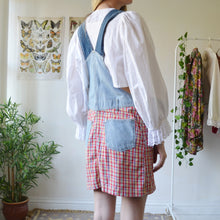 Load image into Gallery viewer, Picnic dungaree dress