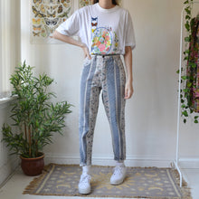 Load image into Gallery viewer, Flower trail jeans 27W