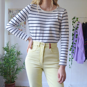 Warm stripe jumper
