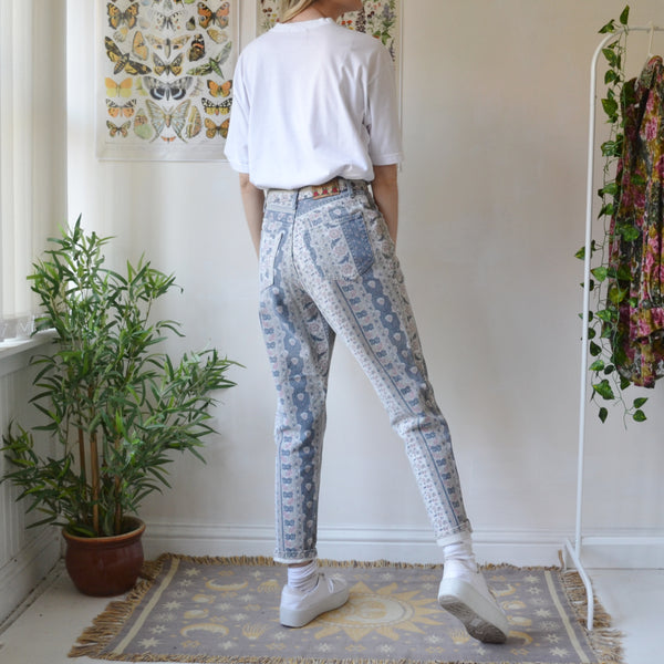 Flower trail jeans 27W