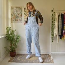 Load image into Gallery viewer, Pinstripe dungarees