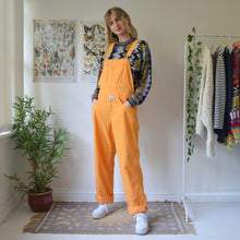 Load image into Gallery viewer, Tangerine dungarees