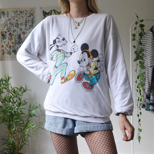 Reversible Mickey sweatshirt