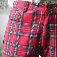 Load image into Gallery viewer, Tartan trousers