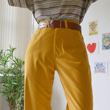 Load image into Gallery viewer, Mustard velvet cords 32W