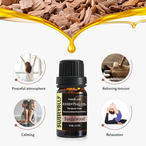 Grounding Sandalwood Essential Oil
