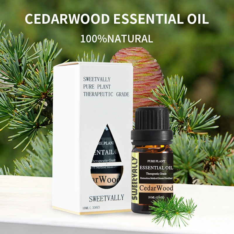 Calming Cedarwood Essential Oil