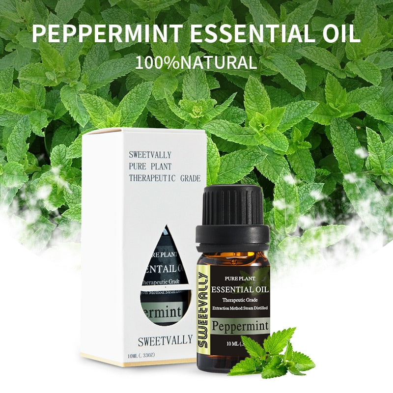 Energizing Peppermint Essential Oil