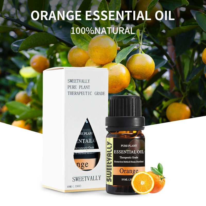 Boosting Orange Essential Oil