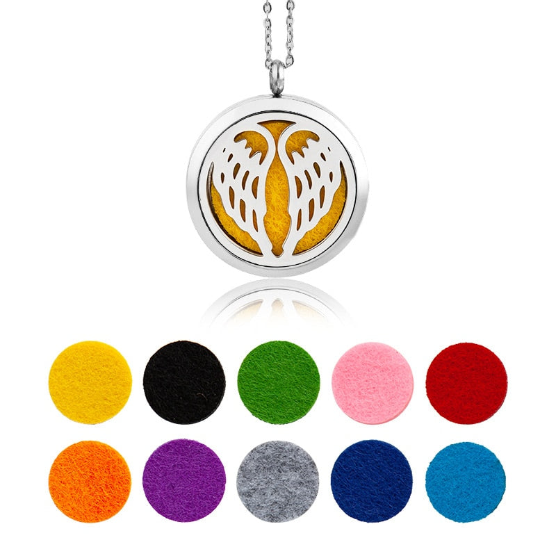 Sweet Vally Diffuser Necklace Wings Essential Oil and Perfume