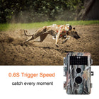 4-Pack 16MP 1080P Trail Cameras for Hunting Black Flash Infrared 65ft Night Vision Motion Activated IP66 Waterproof Photo and Video Model