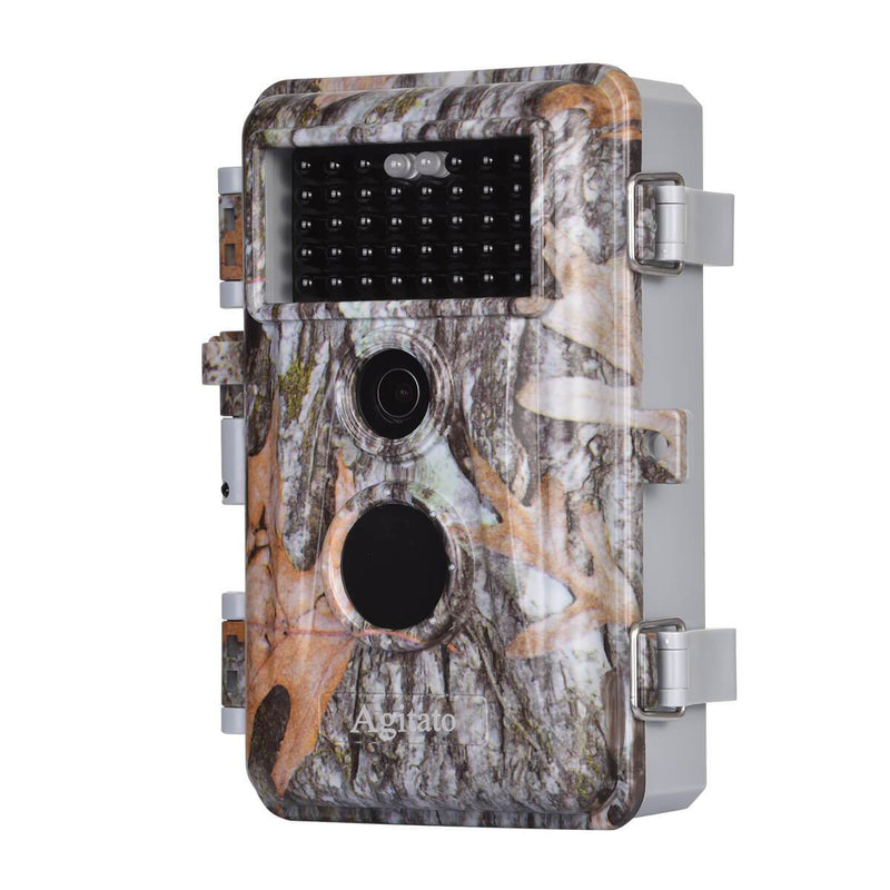 8-Pack Game Trail Wildlife Deer Cams 16MP 1920x1080P Video Night Vision No Glow 940nm IR Motion Activated Waterproof 0.6S Trigger Photo & Video Model