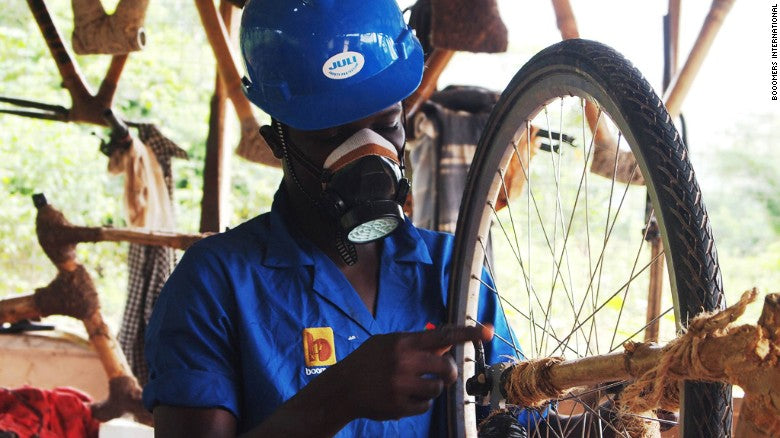 Ghana's Bamboo Bicycle Puts Sustainable Change in the Frame - CNN African Startups