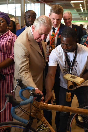 Prince Charles Commends Booomers for Bamboo Bikes