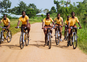 Bike to School Program - Helping Curb School Dropout Among Girls in Rural Ghana