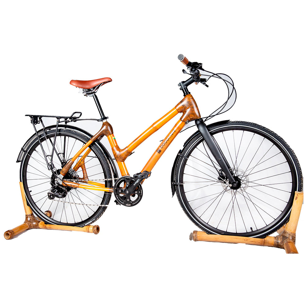 Yonso bamboo city bike