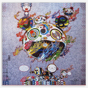 Takashi Murakami - Art Chaos Canvas Wall Art - NINJACUDDLE.com