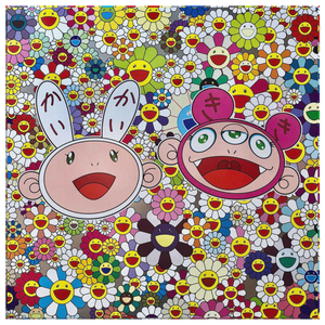 Takashi Murakami Art - Kaikai Kiki Canvas Wall Art - NINJACUDDLE.com