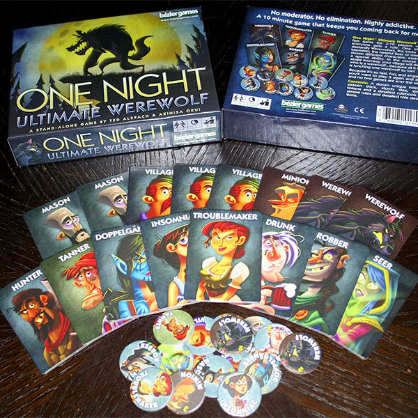 Bezier Games One Night Ultimate Board Games