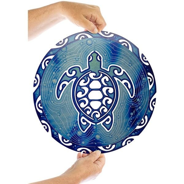 [XMAS FREESHIPING ONLY TODAY] MANDALA TURTLE METAL WIND SPINNER