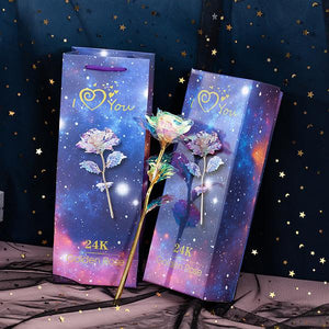 (50% OFF) LIMITED EDITION GALAXY ROSE