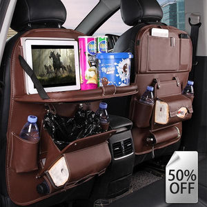 50%OFF-Leather Car Seat Organizer(Buy 2 Free Shipping+10%Off)