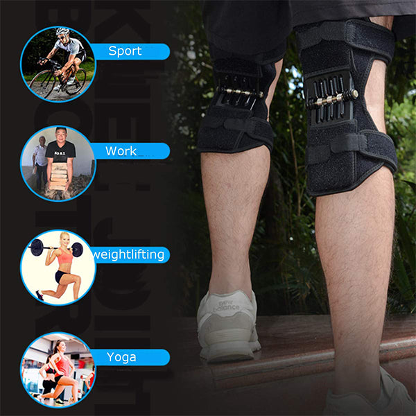 Slimerence Knee Protection Booster Power for Sports Hiking Climbing Reduces Soreness Old Cold Leg Protection Deep Care【Buy Two free shipping】