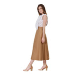 Load image into Gallery viewer, A-line midi skirt