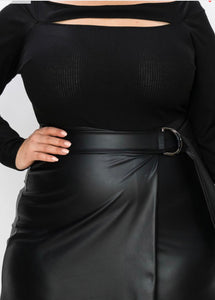 Alea Black Plus Size Dress