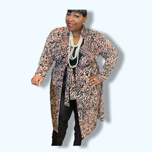 Load image into Gallery viewer, Plus Size Long Cardigan