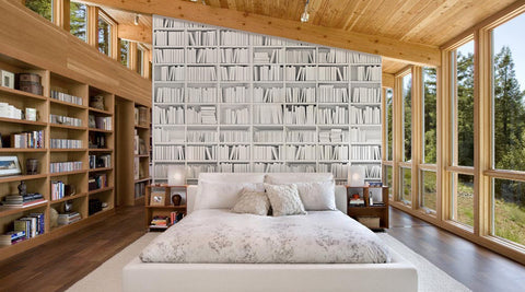 Bookshelves in White