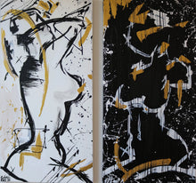 "Load image into Gallery viewer, ""YANG AND YIN""  SOLD"