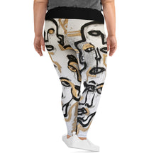 "Load image into Gallery viewer, Curvy Leggings, ""PHARAOH"""