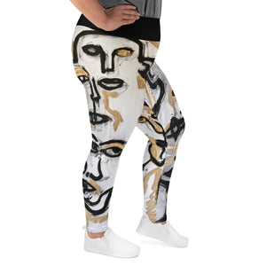 "Curvy Leggings, ""PHARAOH"""
