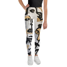 "Load image into Gallery viewer, Youth Leggings, ""PHARAOH"""