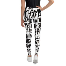 "Load image into Gallery viewer, Youth Leggings, ""ETTE POEM"""