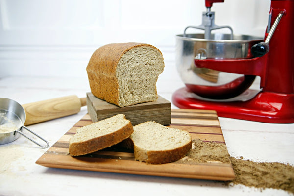 Yeast-Made Multi Grain Bread Loaf