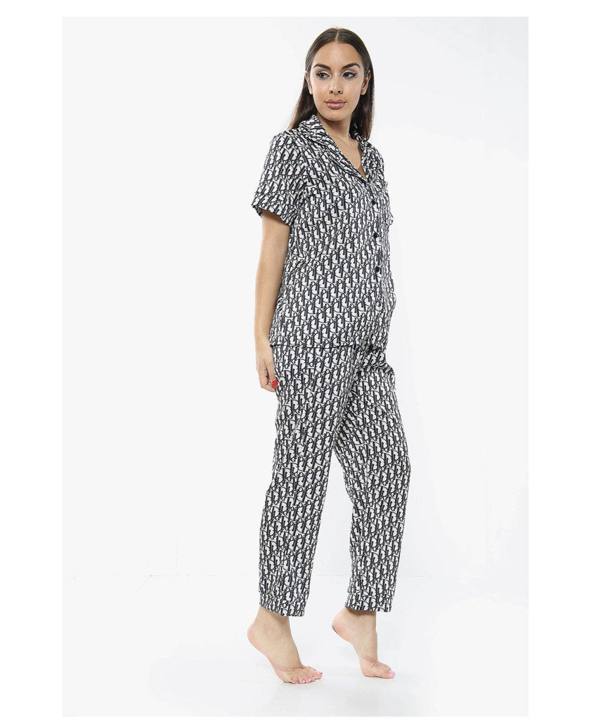 Dior inspired Pyjamas (Long) - Bodiedbyclaris