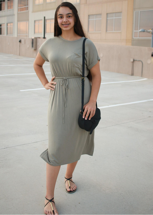 Everyday Dress- Olive
