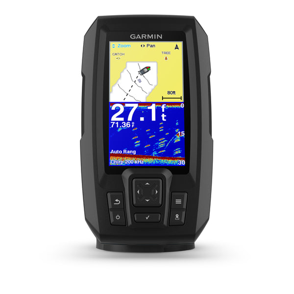 Garmin Striker 4 Plus Fishfinder with Dual Beam Transducer - Black