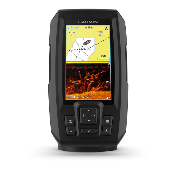 Garmin Striker 4 Plus 4cv Fishfinder with GT20-TM Transducer - Black