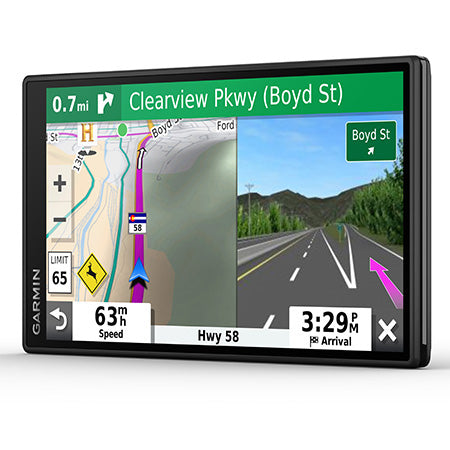 Garmin DriveSmart 55 Voice Command GPS with 5.5-in Display & Traffic Alerts - Black