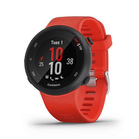 Garmin Forerunner 45 GPS Running Smartwatch and Fitness Tracker Large - Lava Red