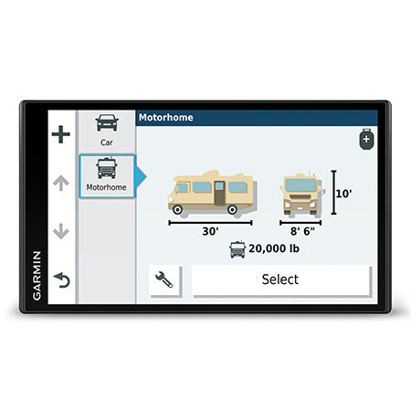 Garmin RV 780 GPS with 6.95-in Display with Traffic Alerts - Black