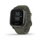 Garmin Venu Sq GPS Music Smartwatch and Fitness Tracker with Incident Detection - Green
