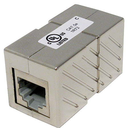 Vertical Cable Cat5e Shielded Inline Coupler