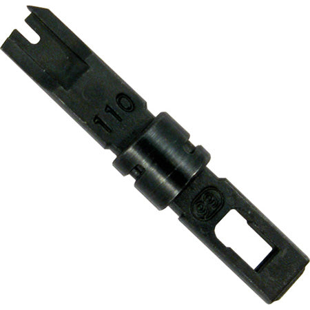Vertical Cable Impact Punchdown Tool 110/88/66 Blade Replacement - Black